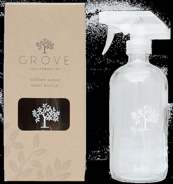 grove collaborative glass spray bottle. Black Bedroom Furniture Sets. Home Design Ideas