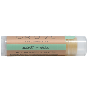 grove collaborative superfood lip balm mint chia. Black Bedroom Furniture Sets. Home Design Ideas