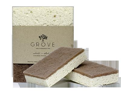 grove collaborative walnut scrubber sponges. Black Bedroom Furniture Sets. Home Design Ideas